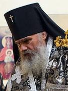 Патриаршее поздравление архиепископу Владивостокскому Вениамину с 15-летием архиерейской хиротонии